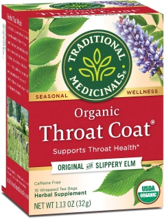 Throat Coat Seasonal Tea|Traditional Medicinal Organic|