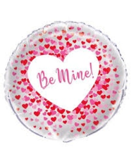 Be Mine Mylar Balloon