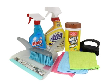 Assorted Cleaning Supplies coming soon!