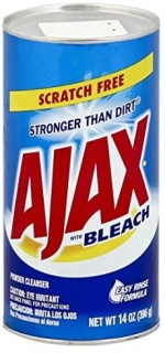 Ajax|Scratch Free w/ Bleach|