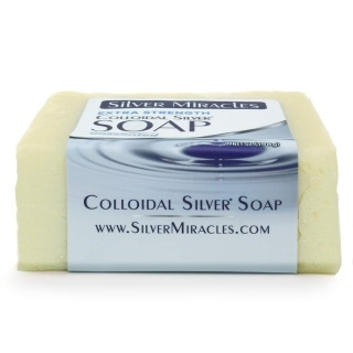 Colloidal Silver Soap|Extra Strength |