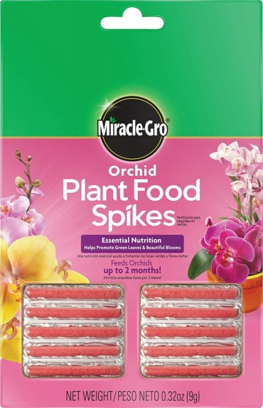Miracle Gro Orchid Plant Food Spikes