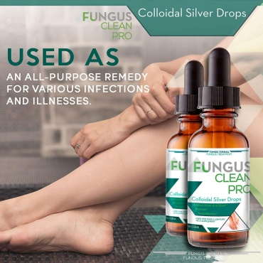 Colloidal Silver Drops|Fungus Clean Pro|