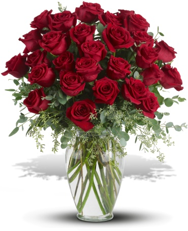 30 Long Stemmed Red Roses