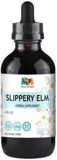 Slippery Elm|Tincture|4 oz|Organic|
